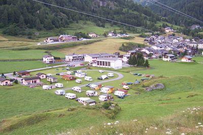 Camping Le Grand Saint Bernard