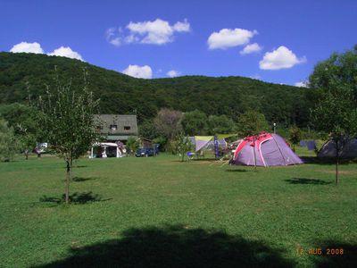 Camping Mustang