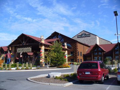 Hotel Great Wolf Lodge Ripley's Water Park Resort