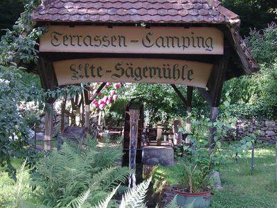 Camping Terrassen Camping Alte Sägemühle