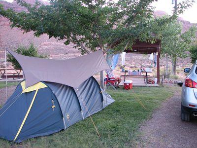 Camping Moab Rim RV Campark & Cabins