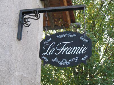 Vakantiehuis La Framie