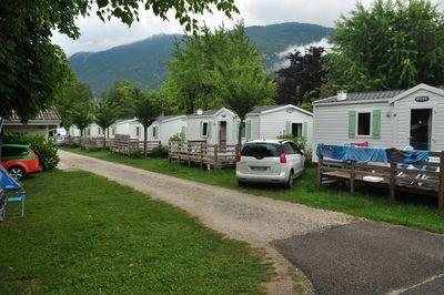 Camping La ferme de la Serraz