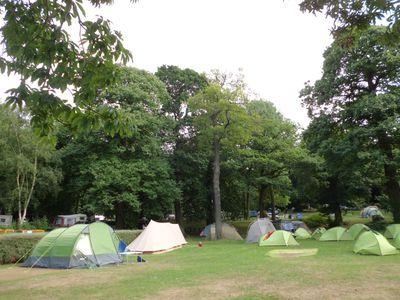 Camping Abbey Wood Caravan Club Site