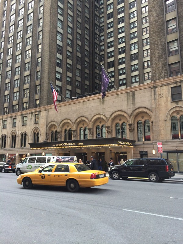 Hotel Park Central In New York City, Verenigde Staten Van