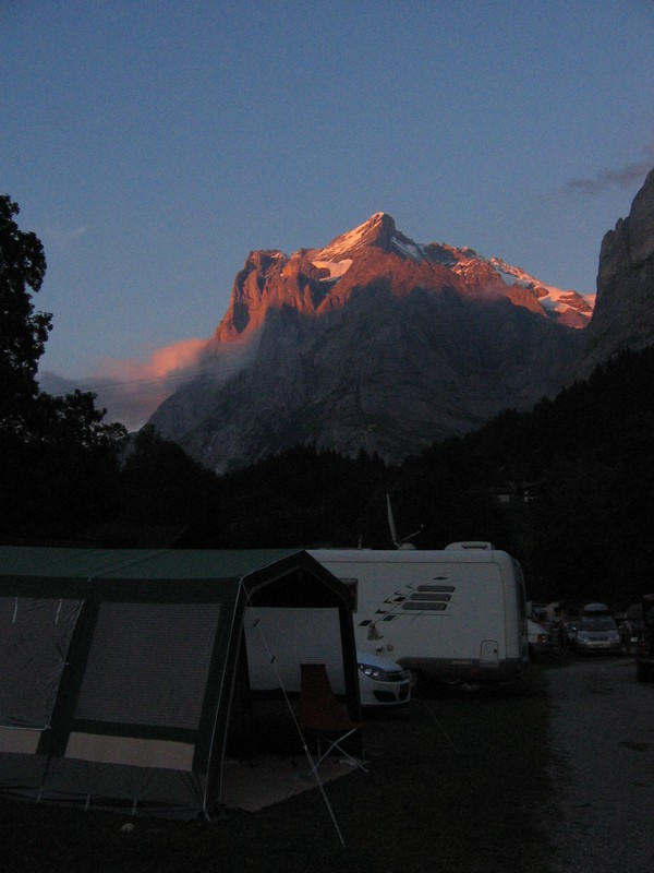 Camping Gletscherdorf in Grindelwald, Zwitserland | Zoover