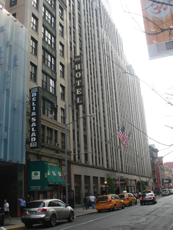 Hotel Edison In New York City, Verenigde Staten Van