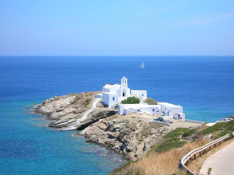 klooster chryssopigy - eiland sifnos - vakantie 2021 griekenland
