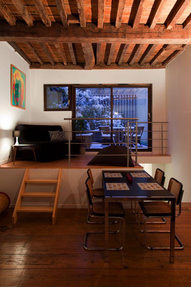 Appartement Slapen in Apen