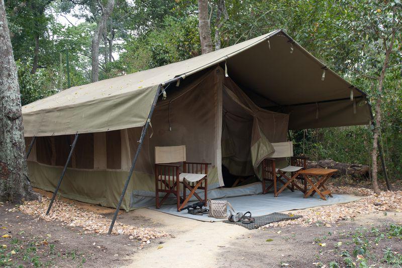 Camping Ishasha Wilderness Camp