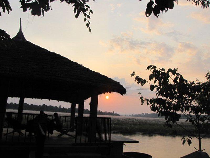 Lodge Jungle Sunset Camp
