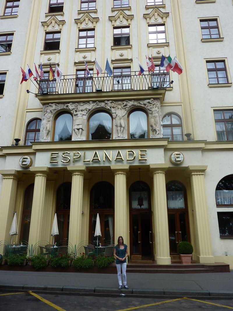 Hotel Esplanade Praha a. s.