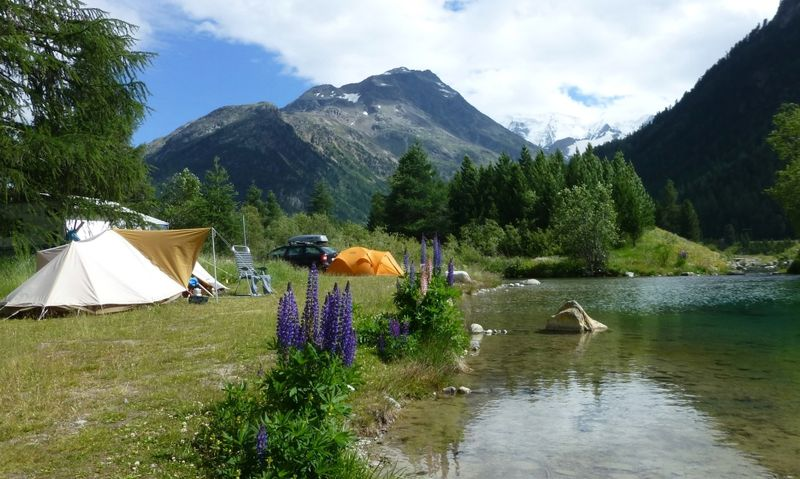 Camping Morteratsch in Pontresina, Zwitserland | Zoover