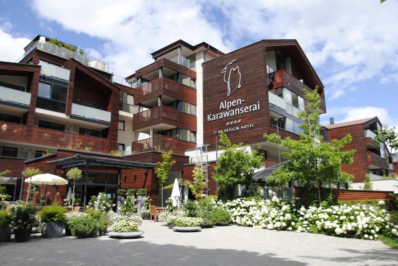 Hotel Alpen Karawanserai Time Design