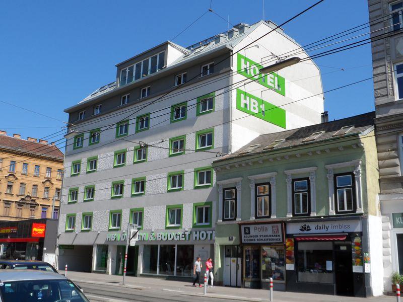 Hotel HB1 Design & Budget Wien Schönbrunn