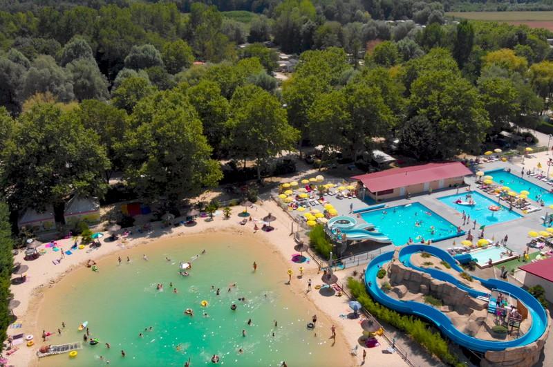 Camping Iris Parc Le Château de Galaure | Drôme Frankrijk
