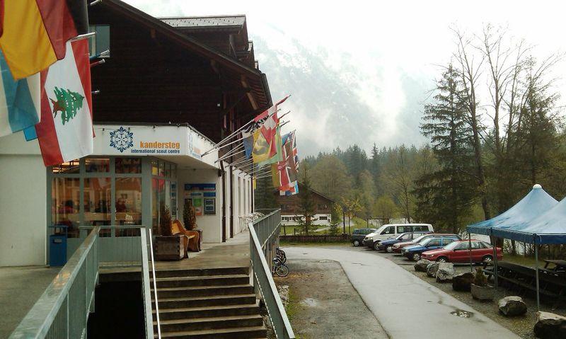 Camping Kandersteg International Scout Centre