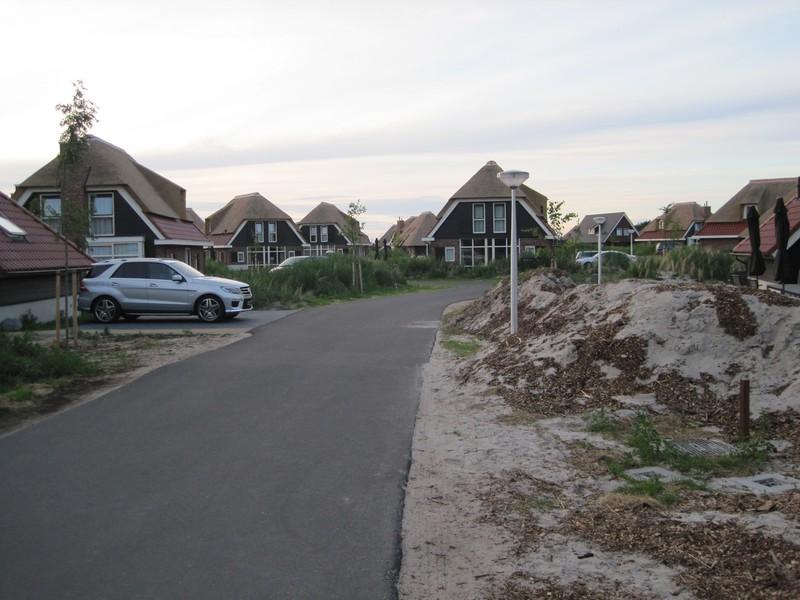 Nieuwe huisjes op Sluftervallei