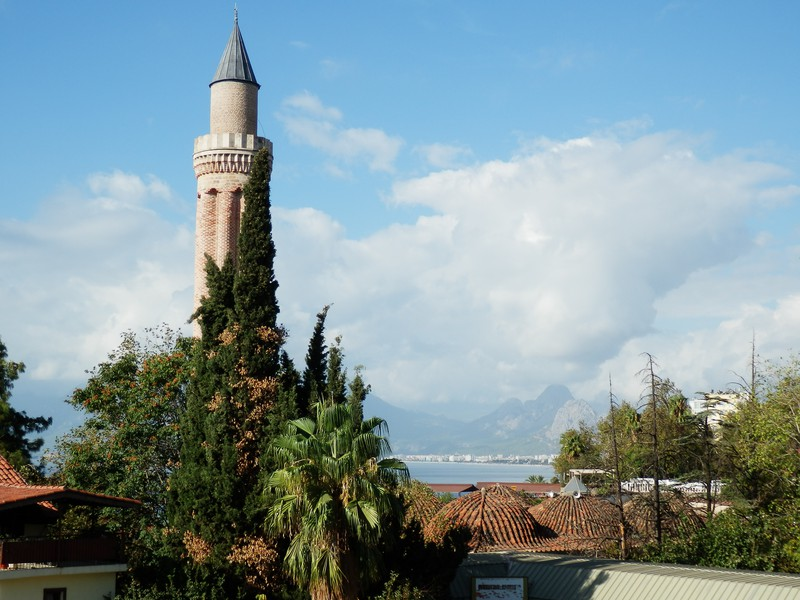 Minaret in Antalya